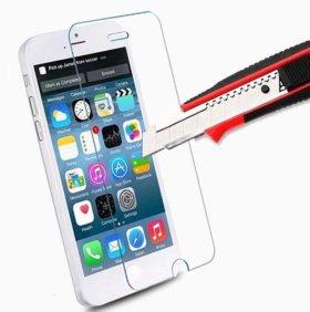 Защитная пленка (стекло) на экран iPhone 6, 6s