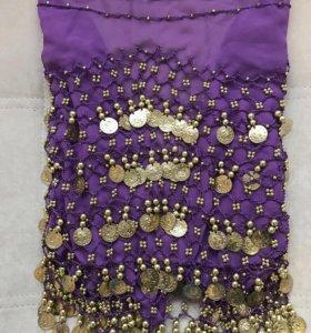 Платок для восточных танцев и большой лоскут ткани