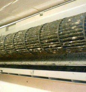 Ремонт и чистка сплит систем