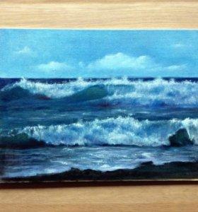 Картина маслом - море