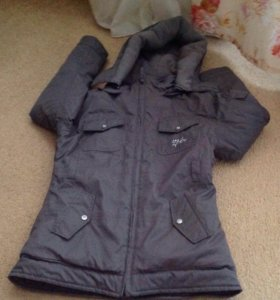Пальто зимнее для девочки зеплин