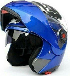 Мото шлем модуляр мотошлем трансформер