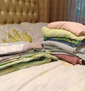 Полотенца, постельное белье