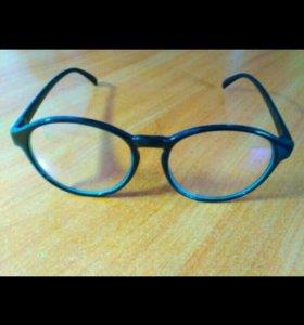 Очки компьютерные с простым стеклом