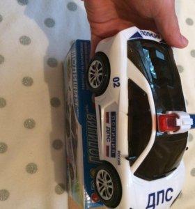 Новая игрушка полицейская машина 3D.