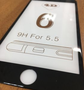Защитное стекло на весь экран для iphone 6plus
