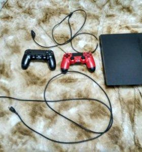 Продам PlayStation 4 + игры