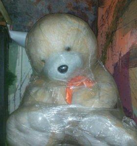 Медведь 1 метр напольный