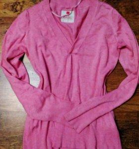 свитер розовый обмен