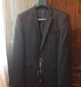 Мужской пиджак чёрный