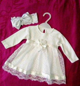 Платье (4-8мес.)