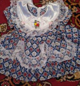 Платье для девочки на 1 год