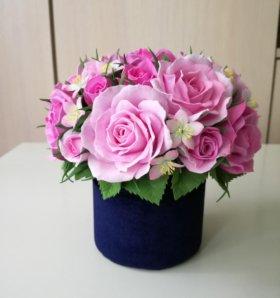 Топиарий цветочная шкатулка