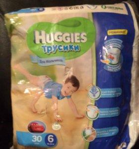 Huggies 6 трусики 20 шт