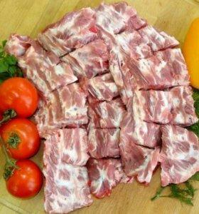 Рагу свиное мясные кусочки
