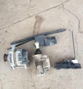 Стартер,генератор,колеса и двигатель