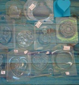 Продам формы и упаковку для мыла (мыловарение)