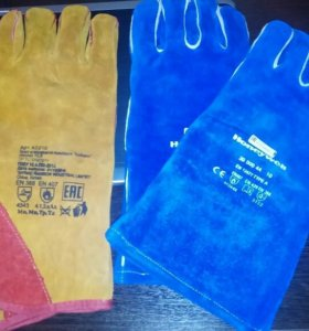 Кожанные перчатки (краги).