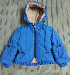 Курточка на девочку 5-6лет