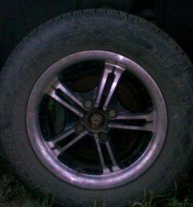 Диски литые алюминиевые R13