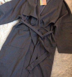 Новое модное пальто халат