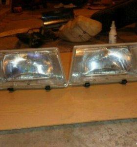 Фары 2109 и фонари