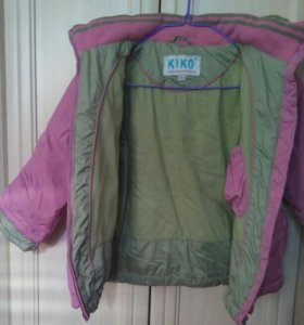 """Куртка на девочку фирма""""KIKO"""""""
