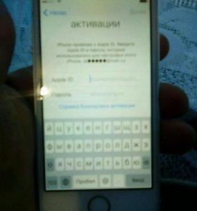 Продам iPhone 5 с заблокированный