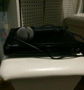 Новый Караоке dvd-плеер с микрофоном