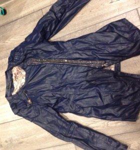 Куртка из кожзаменителя 44-46 размера