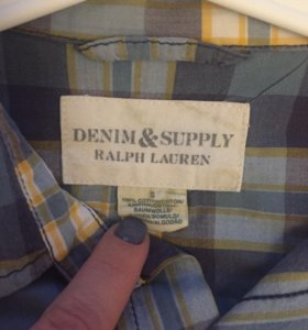 Рубашка DenimSupply Ralf Lauren