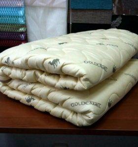 Одеяло верблюжья шерсть 200х220см