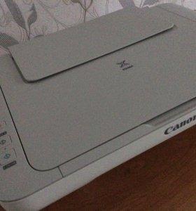 Принтер, сканер,ксерокс(3 в 1)струйный