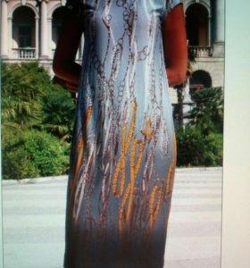 Платье. Новое. Вискоза / стразы
