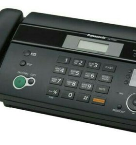Факс Panasonic KX-FT982RUB (копир, термобумага)