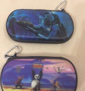 PSP Slim 3000 сумка жесткая 3D