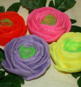 Рукунсулы мыльные цветы
