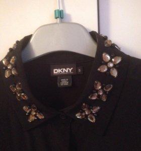 Рубашка шёлковая DKNY