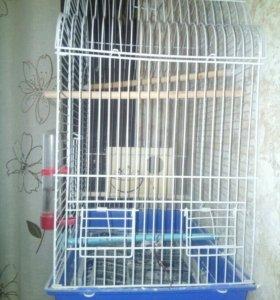 Клетка для попугаев и канареек