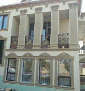 Фасадные работы, ремонт