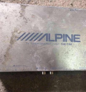 TV tuner Alpine