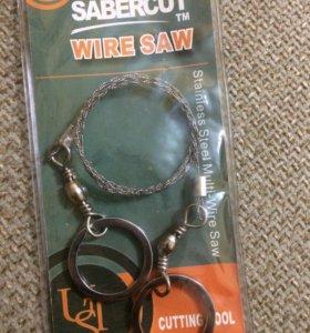 Пила-струна походная Sabercut Wire Saw