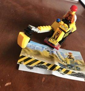 Lego Экскаватор