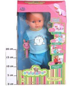 Кукла новая (ползает и ходит)