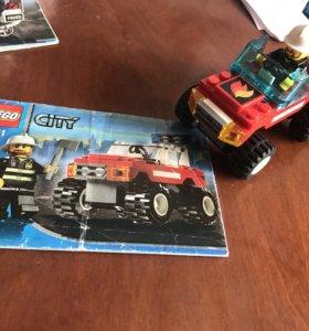 Lego City пожарная машина 7241