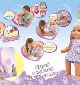 Кукла интерактивная новая