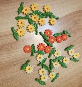 Цветы для творчества 27шт