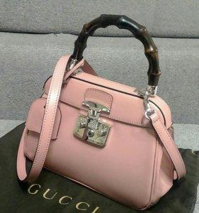 Gucci Bamboo Lady Lock mini, оригинал