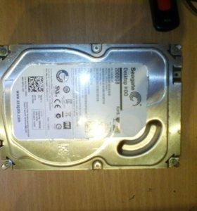 "2 TB Жесткий диск 3,5"" Seagate ST2000DM001, SATA"