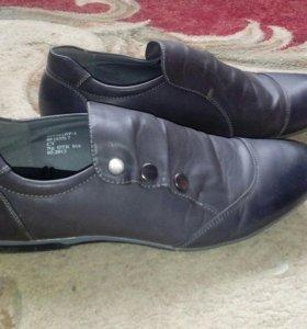 Туфли кожаные,мужские
